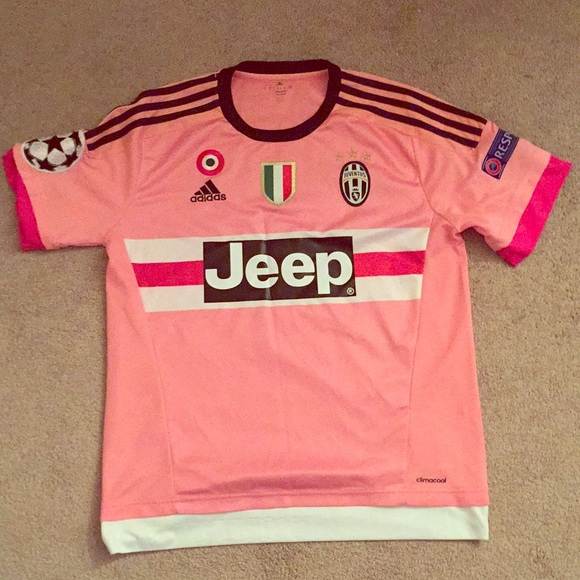 competitive price 50264 65c5a Adidas 10 Pogba Pink Juventus Jersey